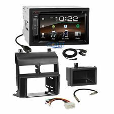 Kenwood Bluetooth Sirius Stereo 2Din Dash Kit Harness for 88-94 Chevy GMC Truck