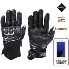 Gants noirs poignet pour motocyclette Homme