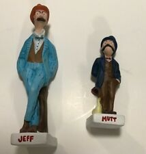 Vintage Mutt And Jeff figurines