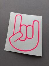 The Shocker Hand NEON PINK Aufkleber Metal Autoaufkleber Decal Stickerbomb JDM