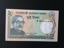 Bangladesh 2 Taka 2012  P52b  Banknote UNC