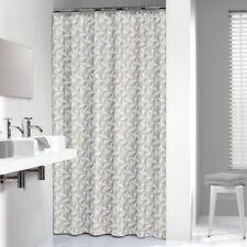 Extra Long Shower Curtain 72 x 78 Inch Sealskin Piega Gray Fabric
