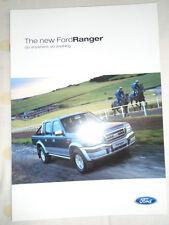 Ford Ranger range brochure Oct 2002