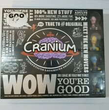 Cranium WOW NIB Board Game 600 , all new cards , sealed never used adult game