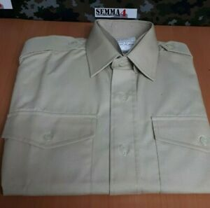 Genuine British Army issue Mens FAD fawn all ranks long sleeve shirt. - New