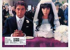 DUSTIN HOFFMAN STEFANIA SANDRELLI ALFREDO ALFREDO 1972 VINTAGE LOBBY CARD #9