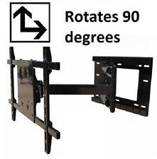 "90 degree Portrait/Landscape Rotation TV wall mount 33"" Extension 32"" - 60"" TVs"