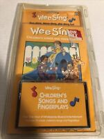 NEW Vintage Wee Sing Children's Songs And Fingerplays 1979 Cassette and Book