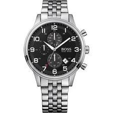 Hugo Boss Hb1512446 Chronograph Stainless Steel Men's Wrist Watch