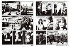 """CORRADO ROI  - Brendon  n.9  """"Il carro della paura"""" p.40 - 41"""