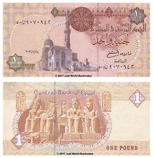 Egypt 1 Pound 2003 Replacement (Prefix 500) Banknotes UNC