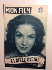 MON FILM N°451 1955 LA BELLE OTERO / MARIA FELIX