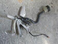Yamaha R1 5JJ 4XV 1998 2002 Right brake rearset complete Brembo master cylinder