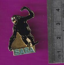 Chimpanzee - mammal animal pin badge