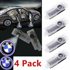 4PCS BMW Door LED Logo Projector Ghost Shadow Lights Car Lighting Accessories VP