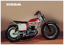 OSSA Poster Stiletto 250 ST DMR Dick Mann Replica Flat Track Suitable to Frame