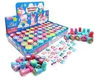 TINYMILLS 50 Pcs Unicorn Assorted Stampers for Kids