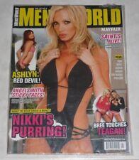 NIKKI BENZ Mayfair MEN'S WORLD Rare Magazine Vol.22 #4 NEW/SEALED! UK