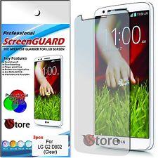 3 Pellicola Per LG G2 D802 Proteggi Salva Schermo Display Pellicole Trasparenti