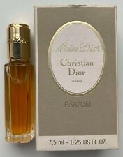 Christian dior miss dior parfum 7,5 ml 0.25 fl oz VINTAGE