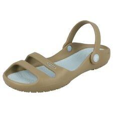 Sandalias y chanclas de mujer Crocs color principal azul sintético