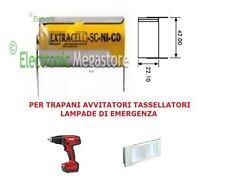 100 PEZZI BATTERIA RICARICABILE NI-CD SC 1.2V 2000mAh 22x42mm A SALDARE 30/307