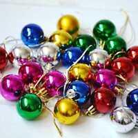 12 Quality Clip On Beard Baubles Decorations Secret Santa Xmas Present Gift HOT