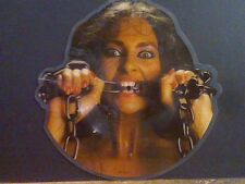 "WAYSTED  Women In Chains  7"" SINGLE    Shaped  PICTURE DISC  !!"