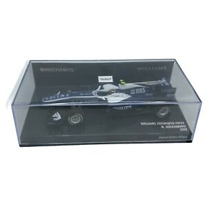 MINICHAMPS 1/43 - WILLIAMS COSWORTH FW32 2010 -Limited Edition Only 330 Made