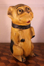 More details for rare 1920s paper mache moulded cardboard advertising display bonzo dog figure