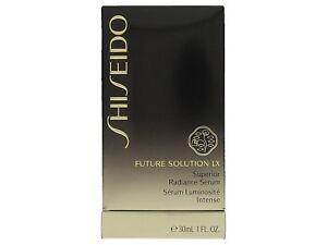 Shiseido Future Solution LX Superior Unisex Radiance Serum Face Care 30 ml New