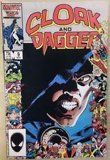 CLOAK AND DAGGER #9 (1986) Marvel Comics FINE