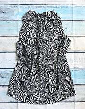 Vince Camino Sz L Poyester top blouse Sleeveless Animal Print VGUC