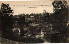 CPA Génis-Le Moulin du pPont sur l'Auvézére (233738)