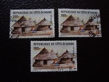 COTE D IVOIRE - timbre yvert/tellier n° 785 x3 obl (A28) stamp
