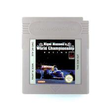 Nigel Mansells World Championship Racing Game Boy (Original) Game USED
