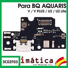 PLACA DE CARGA BQ AQUARIS U2 LITE V PLUS CONECTOR MICROFONO USB ANTENA PUERTO