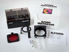 Ilford Multigrade Darkroom Enlarging 12 Filter (under the lens) Complete Kit