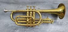 KING INSTRUMENTS 603 TEMPO II CORNET W/ VINCENT BACH 5B MOUTHPIECE PRE-OWNED