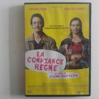 LA CONFIANCE REGNE - DVD Zone 2 - Vincent Lindon - Cecile de France- E.Chatiliez