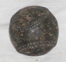 """Circa1880's, Black Stitched Figure Eight Style Baseball w/ 9"""" Circumference"""