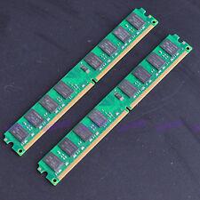 New 4gb 2x 2gb pc2-6400 ddr2 800 800mhz 240pin DIMM de memoria para equipos de s
