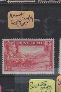 MONTSERRAT  (P0203BB)  KGVI   1D   SG 102  MOG