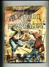 Emilio Salgari # LE TIGRI DI MOMPRACEM # Viglongo 1947 # SF