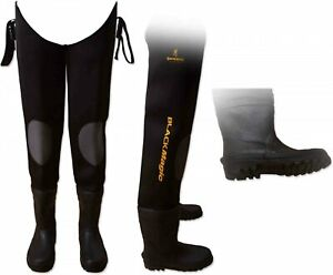 Browning Black Magic Neoprene Waders High Grip Soles Fishing SIZE 46/47 RRP £75