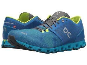 ON Cloud X Running Shoes Mens Size 8 Water/Blues - NIB No Lid