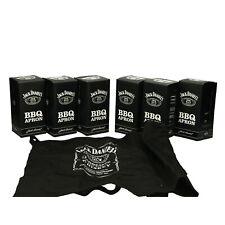 More details for 6 x jack daniels bbq aprons. party. bar. pub. collectables