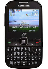Samsung (NET10) - CDMA Camera QWERTY Keys Cellular phone - opened