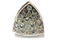 IsaDora - Silberfb. Ring mit Strasssteinen und Lipgloss  S30