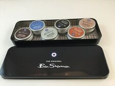 Beard Balm Sampler Set, Original Collection Ben Sherman 6 Different Fragrances